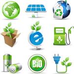 绿色环保生物图