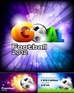 欧洲杯足球赛海报