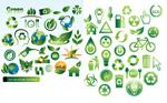 绿色低碳环保图标