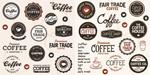 欧式咖啡标签