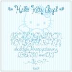 Hello_Kitty字体
