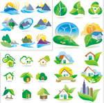 生态自然图标