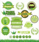 绿色标志矢量