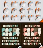 炫彩字母贴纸