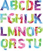 时尚个性英文字母
