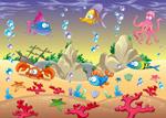 可爱海洋动物