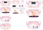 浪漫粉色网页模板