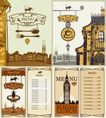 古典菜单设计