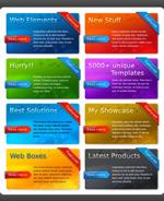 色彩装饰网页模块