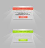 网页设计装饰框