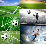 足球题材图片