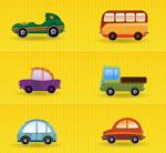 卡通汽车图标