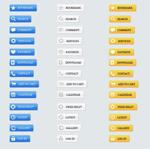 网页菜单按钮