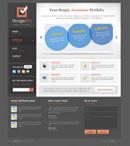 网页设计模板元素