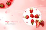 可口草莓点心