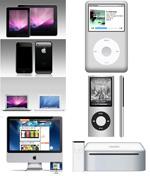 苹果产品PSD