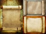 复古卷纸图片