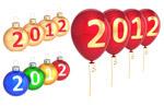 2012气球彩球