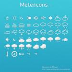 可爱天气图标