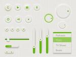 绿色UI设计