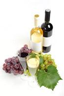 葡萄酒与高脚杯
