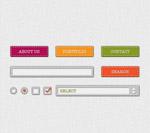 网页特色按钮