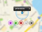map地图定位UI