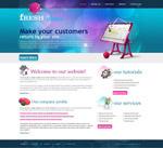 国外网页模板