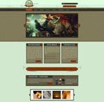国外复古风网页