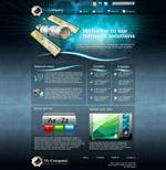 科技网页模板