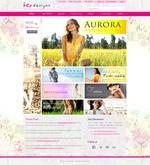 女性主题网页模板