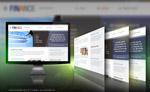 商务财经网页模板