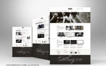 简洁配色网页设计