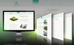 生态环保网页模板
