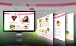 美容网站模板