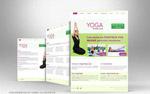 瑜伽馆网页模板