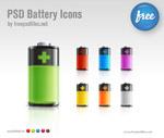 电池图标PSD