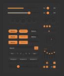 橙色UI工具包