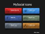 社交平台分享图标