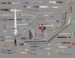 各式剑PSD