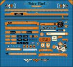 橙色网页UI