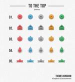 网页TOP排名图标