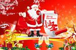 发礼物的圣诞老人