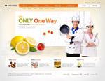 厨师美食网页
