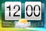 时间与天气界面
