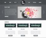 精致网页设计PSD