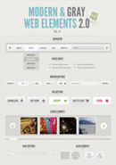 WebUI界面PSD
