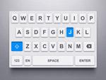 手机键盘UI