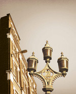 欧式建筑路灯