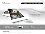 银色网页设计